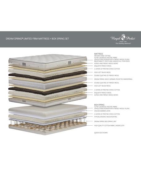 Royal-Pedic Dream Spring Limited Firm Queen Mattress Set