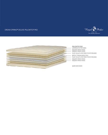 Royal-Pedic Dream Spring Deluxe Pillow Top Pad - Twin