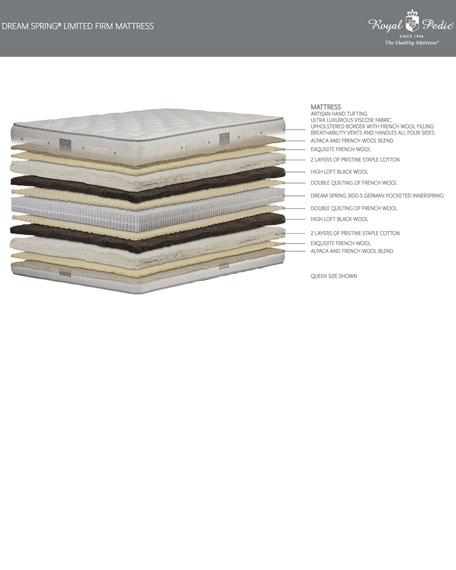 Royal-Pedic Dream Spring Limited Firm King Mattress