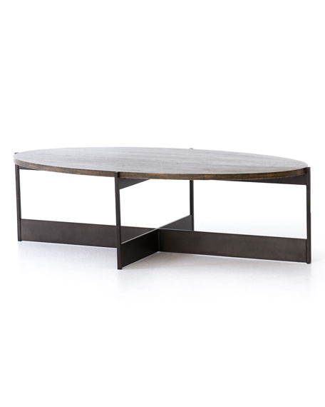 Lucas Oval Coffee Table