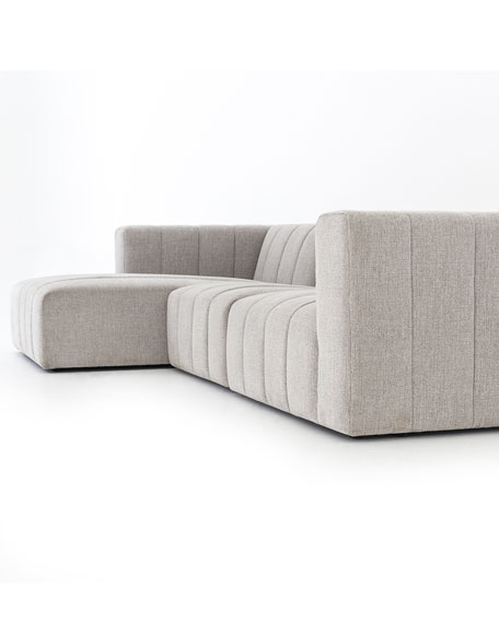 Loretta Channel Tufted Left Side Chaise Sectional