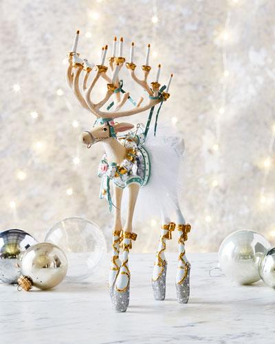 Dancer Reindeer Figurine