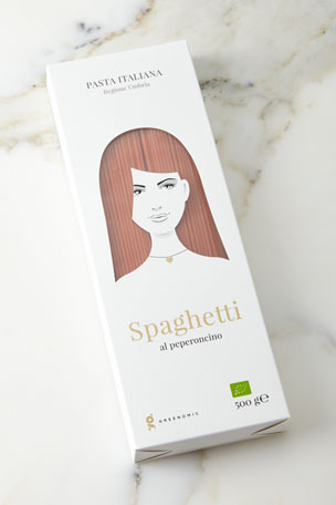 Greenomic Good Hair Day Pasta BIO Spaghetti al Peperoncino, 500g