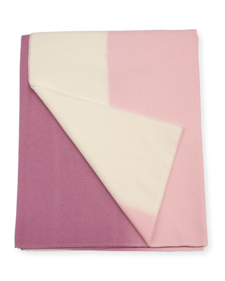 Image 1 of 2: Enzo Degli Angiuoni Zelda Shaded Throw, Pink