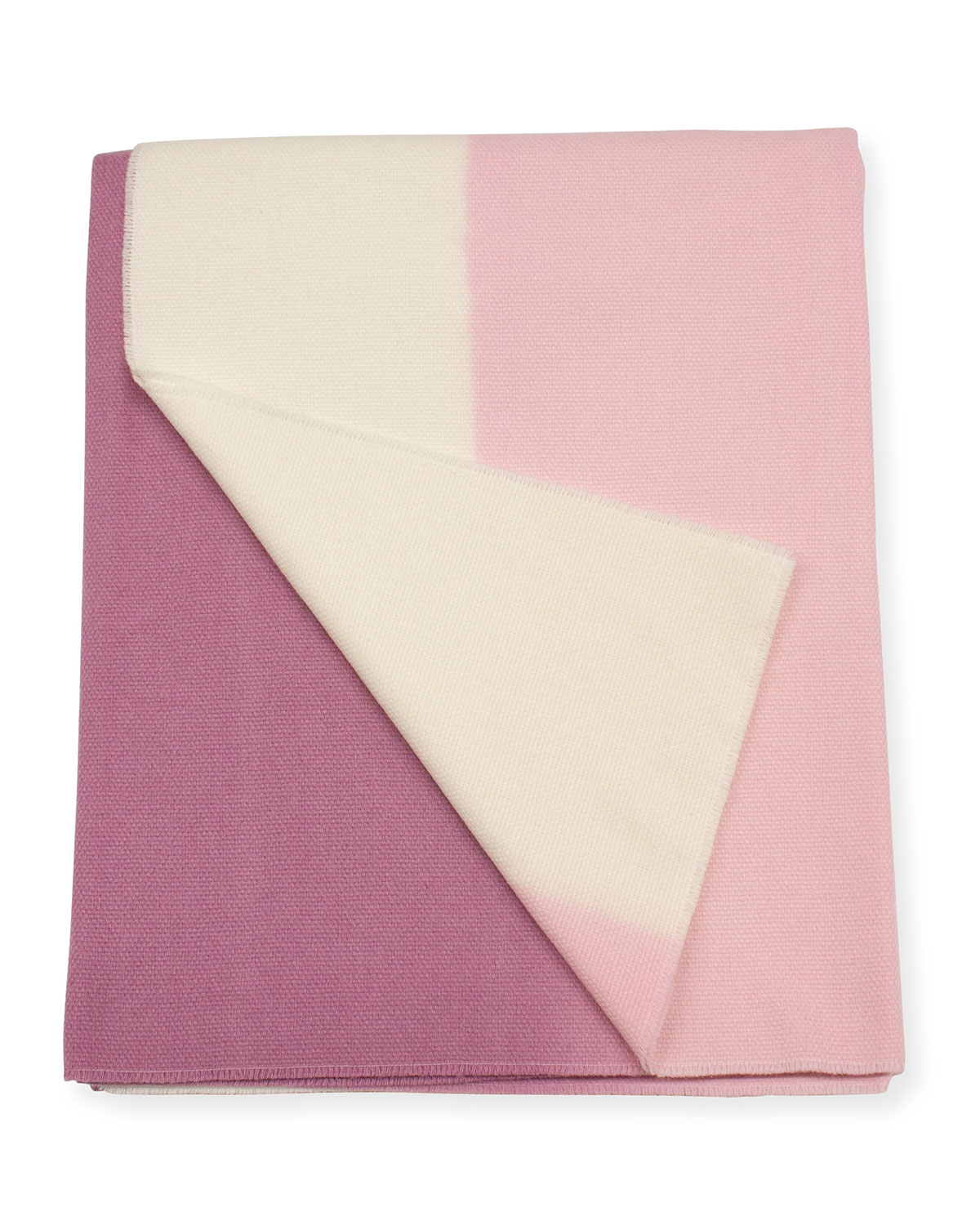 Enzo Degli Angiuoni Zelda Shaded Throw, Pink