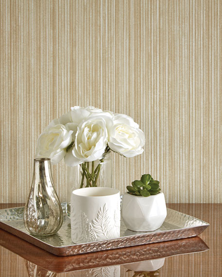 Tempaper Grasscloth Removable Wallpaper