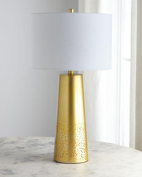 Regina Andrew Design Orion Pierced Metal Lamp