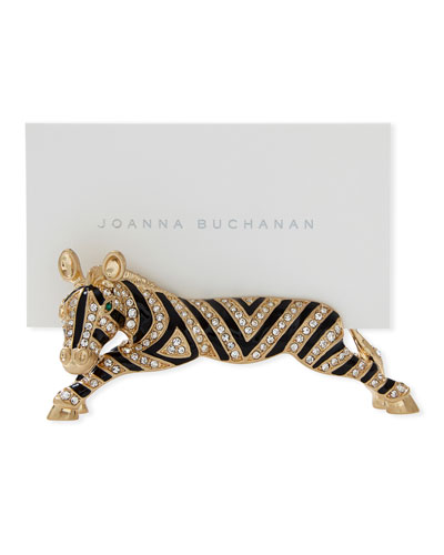 Zebra Place Card Holders, Set of 2