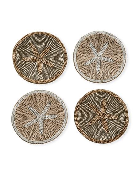 Joanna Buchanan Starfish Coasters, Set of 4