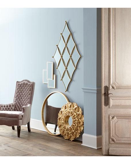 Large Medallion Wall Mirror