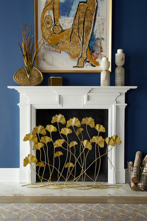 Gingko Firescreen