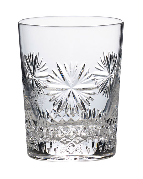 Waterford Crystal Snowflake Wishes Prosperity Double Old-Fashioned Glass