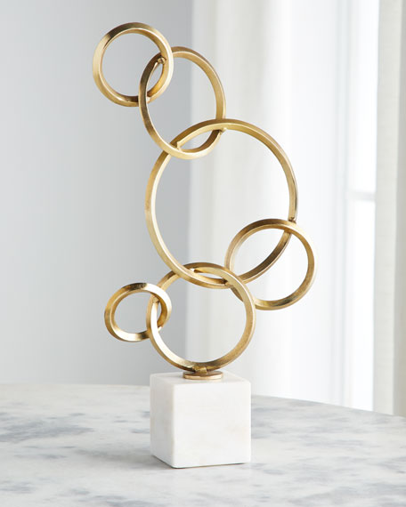 Jamie Young 6 Ring Sculpture