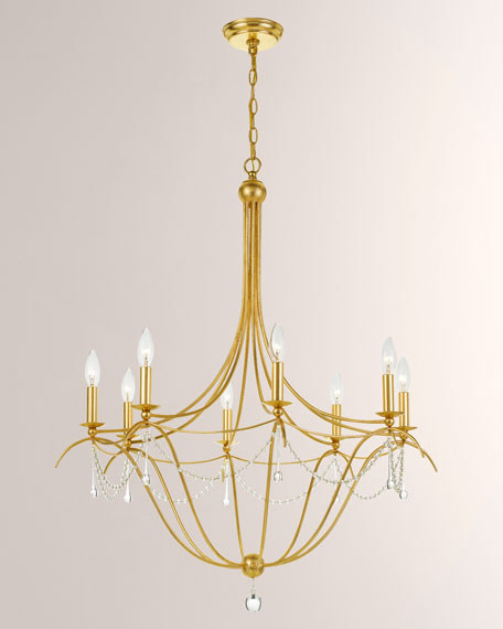 Crystorama Metro 8-Light Chandelier