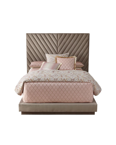 Haute House Velluto California King Platform Bed
