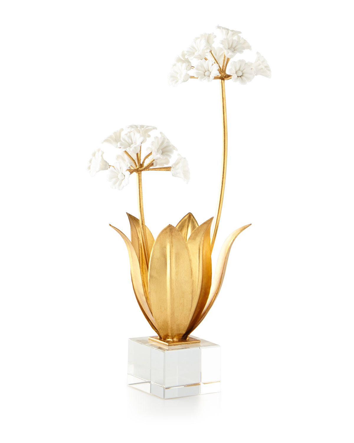 John-Richard Collection Allium Moly in Porcelain