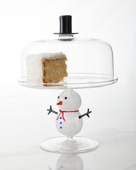 Massimo Lunardon Snowman Cake Stand