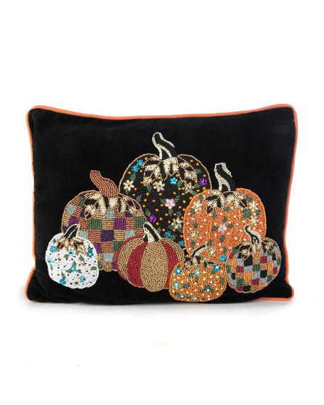 MacKenzie-Childs Pumpkin Party Pillow
