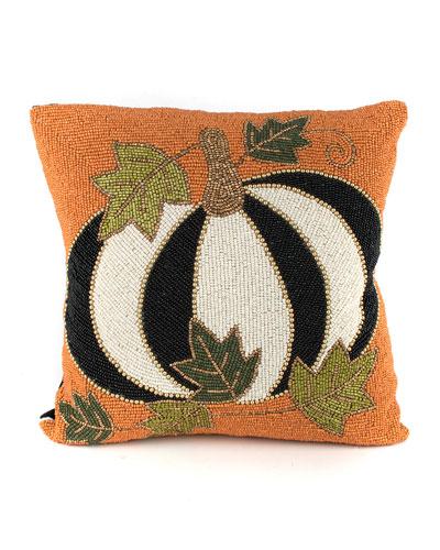 Tuxedo Pumpkin Pillow