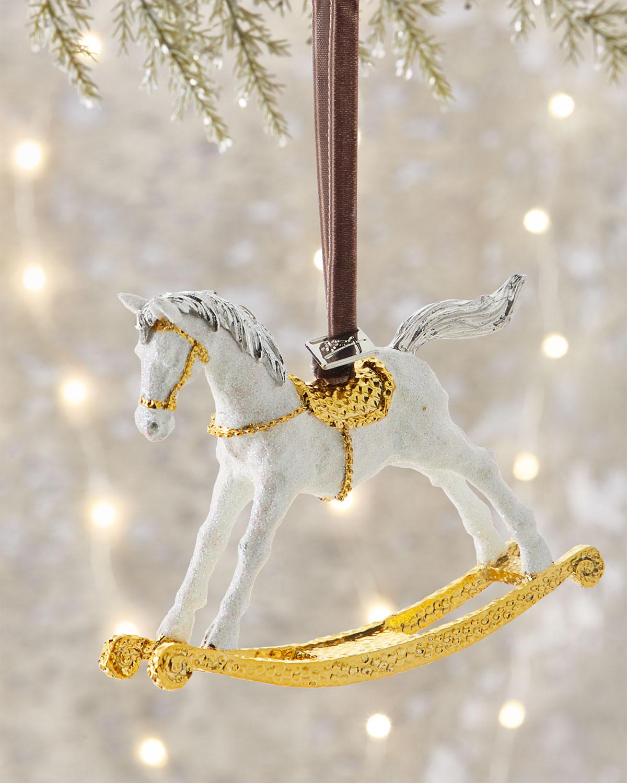 Michael Aram Rocking Horse Ornament Neiman Marcus