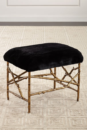 John-Richard Collection Branch Style Base Ottoman