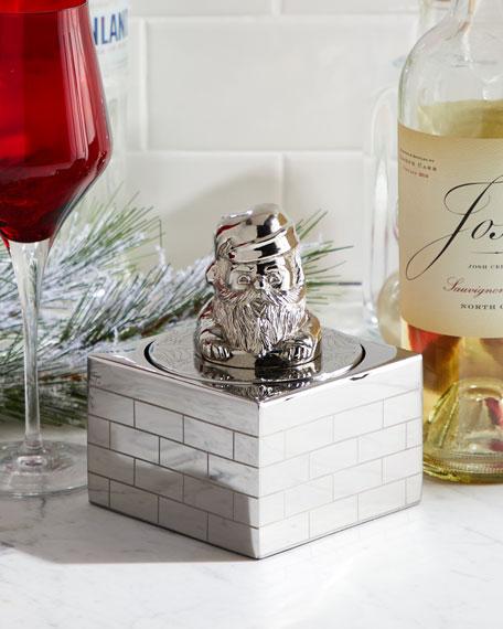Godinger Santa 4-in-1 Wine Set