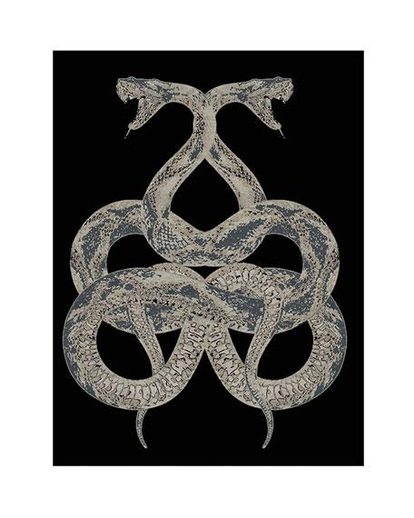 Roberto Cavalli Snake Rug, 16.4' x 13.1'