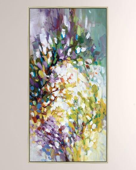 """Bursting Blooms I"" Giclee Canvas Art"