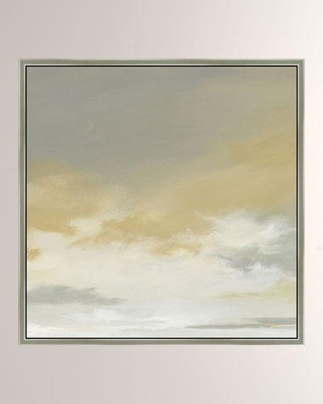 """""""Storm Brewin II"""" Giclee Canvas Art"""