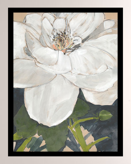 """Marked By Magnolias I"" Giclee Canvas Art"
