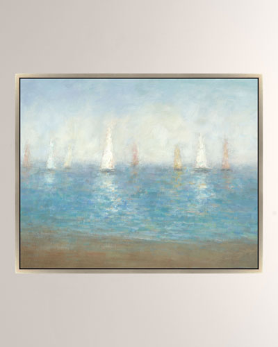 Subtle Sailing Giclee Canvas Art