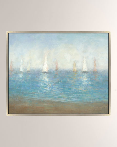 """Subtle Sailing"" Giclee Canvas Art"