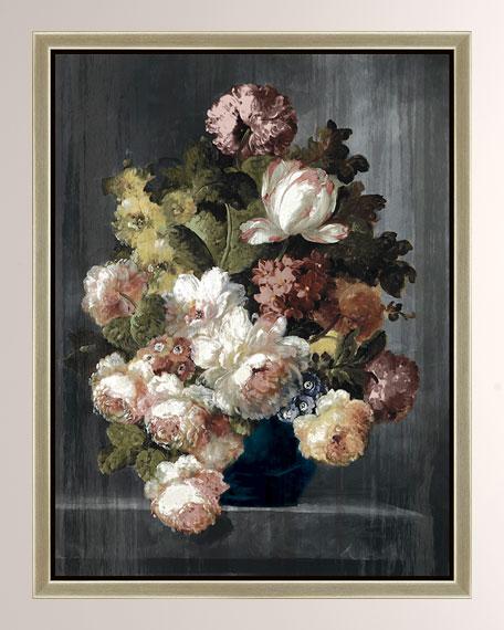 """Vintage Floral II"" Giclee Canvas Art"