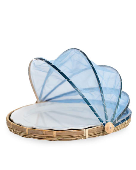 Amanda Lindroth Picnic Tent with Melamine Platter, Extra Large