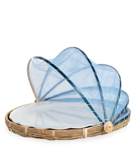 Amanda Lindroth Picnic Tent with Melamine Platter, Medium