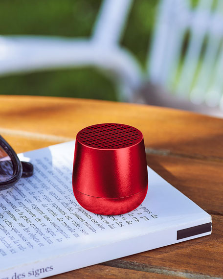 Image 5 of 5: Lexon Design Mino Alu Portable Bluetooth Speaker