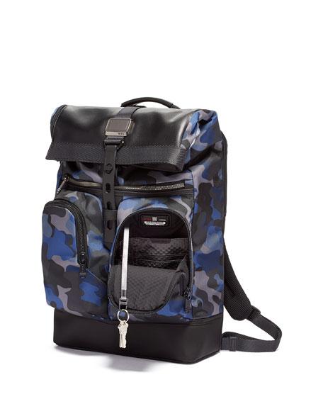 Tumi Backpacks London Roll-Top Backpack