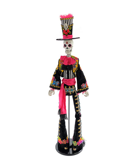 Katherine's Collection Diego Caballero Standing Skeleton, 36""