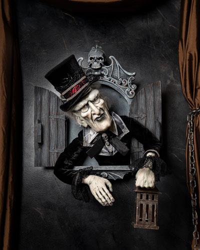 Night Watchman Halloween Wall Decor