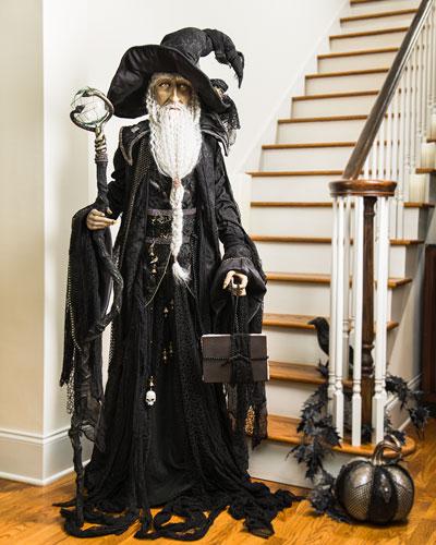 Standing Wizard Decor  60
