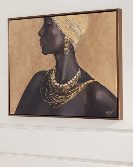 """Elegance"" Giclee Canvas Art"