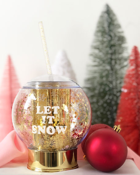 Packed Party Shake It Up Snow Globe Party Cup