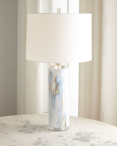 Jamie Young Swirl Ceramic Table Lamp