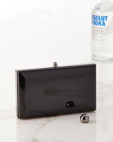 True Zoo VIP Black Incognito Clutch Flask