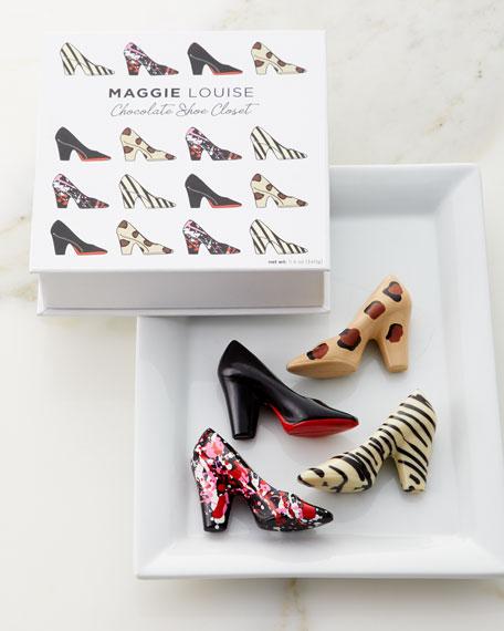 Maggie Louise Chocolate Shoe Closet Gift Box