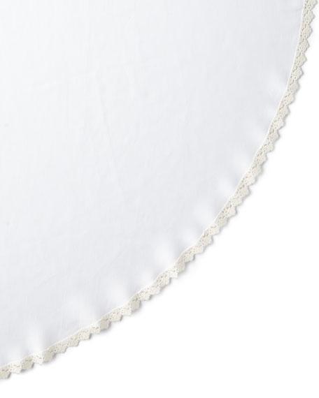 "Matouk Tesori Round Tablecloth, 90"""