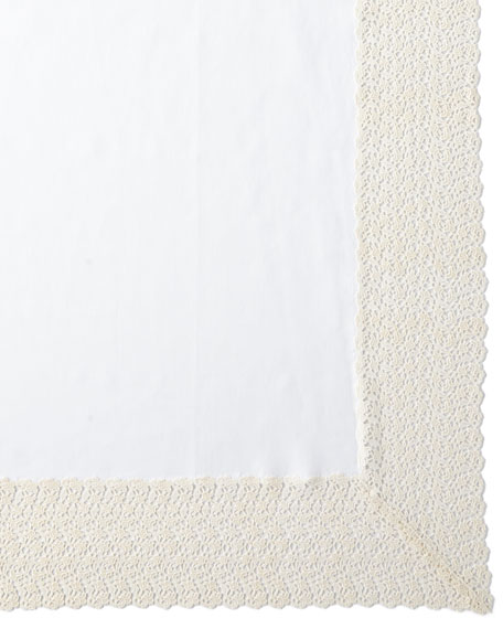 "Matouk Tesori Tablecloth, 70"" x 108"""