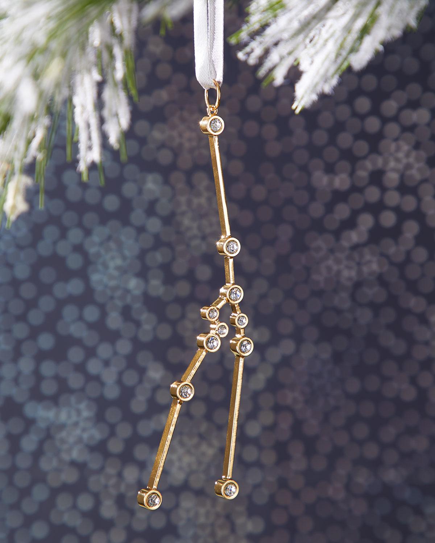 Taurus Zodiac Ornament by Nest Jewelry