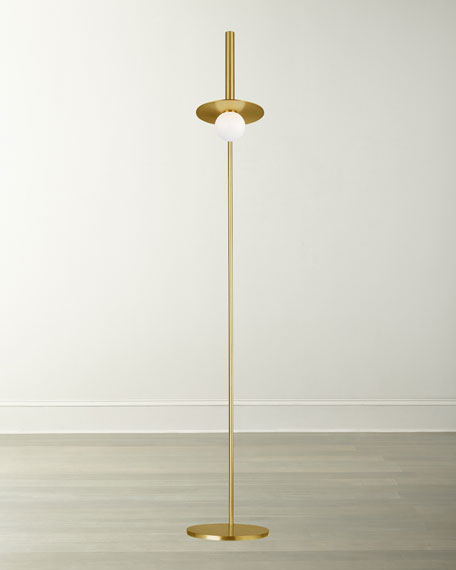 Image 2 of 2: Kelly by Kelly Wearstler Nodes 1-Light Floor Lamp
