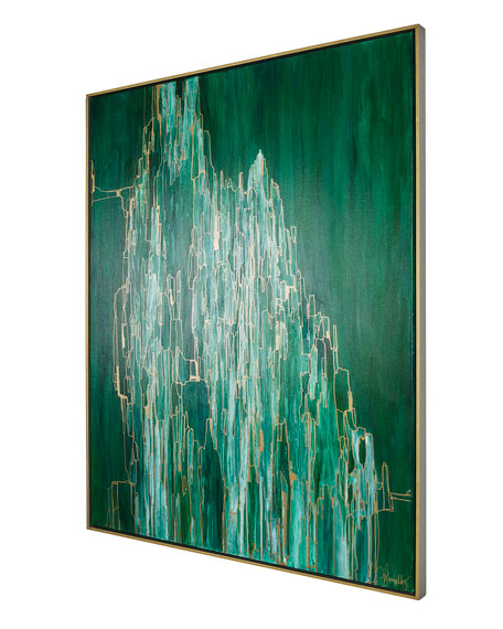 """Jill Pumpelly Fine Art """"The Line Between Envy And Admiration III"""" Limited Edition Giclee"""